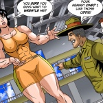 Giantess Muscle Girl Rosie